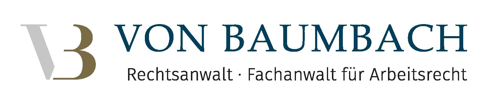 Logo Kanzlei von Baumbach